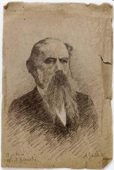 A. Gallotti, Il pittore Mosè Bianchi