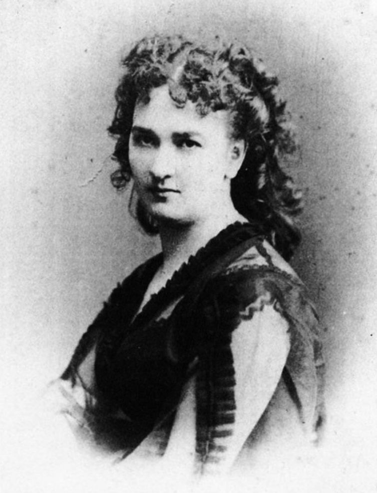 Ada Troubetzkoy negli anni 1870