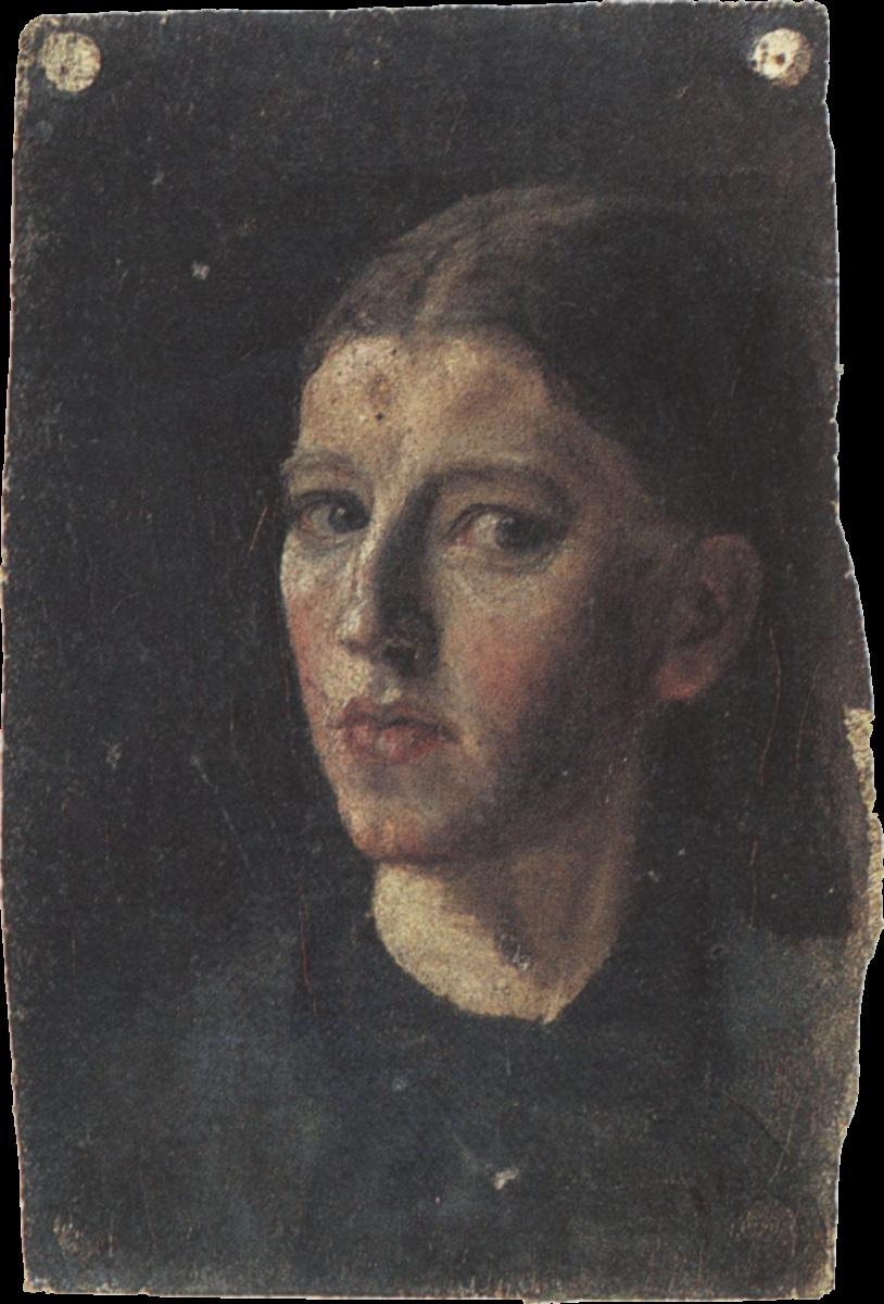 Anna Ancher, Autoritratto, 1877-78 circa