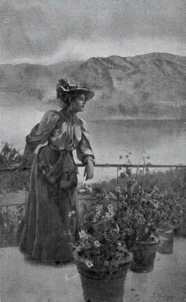 Leonardo Bazzaro, Gli ultimi fiori, 1900, Ubicazione sconosciuta