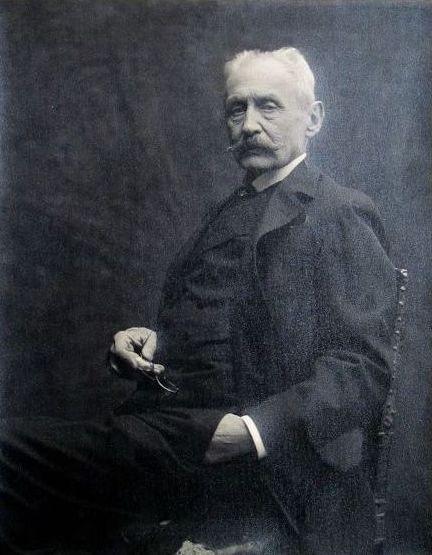 Bertieri, Ritratto di Vittorio Avondo, XIX-XX, stampa fotografica, cm. 41,5(h) x 30,6(b), GAM Torino
