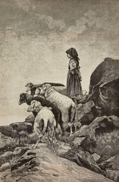 F. Gamberoni, Cosa c'è, incisione tratta da L'Illustrazione Italiana, n. 38 del 12 settembre 1886