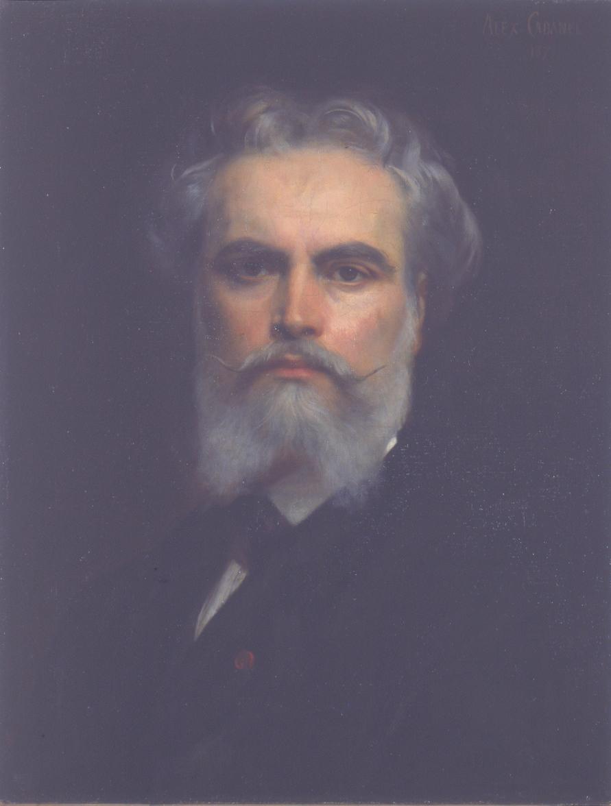 Alexandre Cabanel, Autoritratto