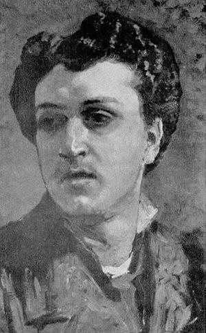 Michele Cammarano, Autoritratto