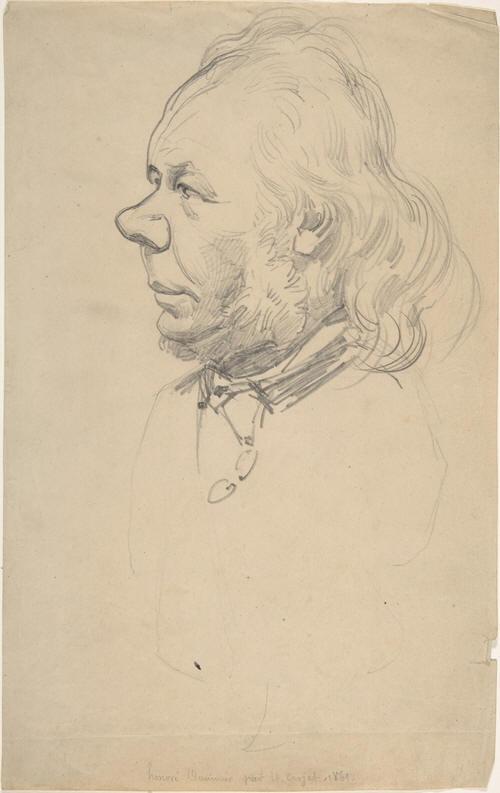 Carjat, Honoré Daumier