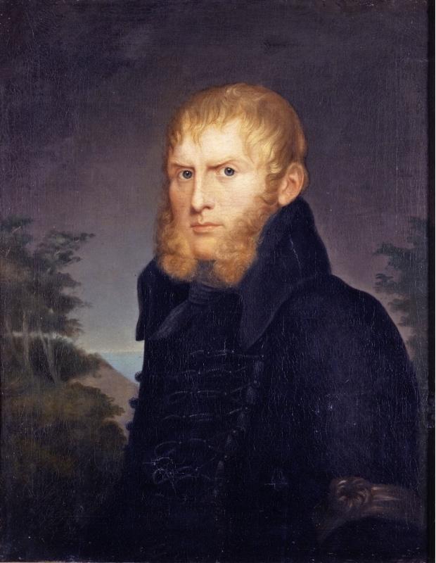 Caroline Bardua, Bildnis des Malers Caspar David Friedrich (Ritratto del pittore Caspar David Friedrich)