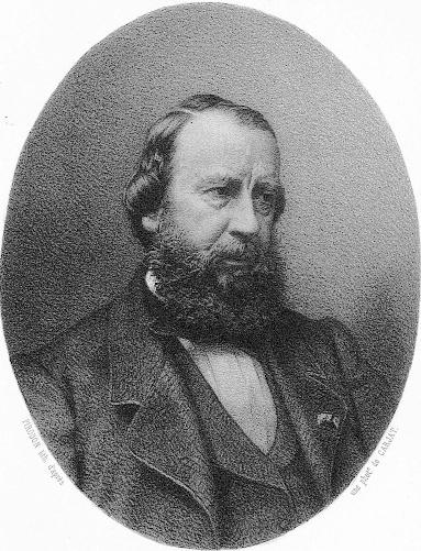 Constant Troyon, litografia da una foto di Carjat