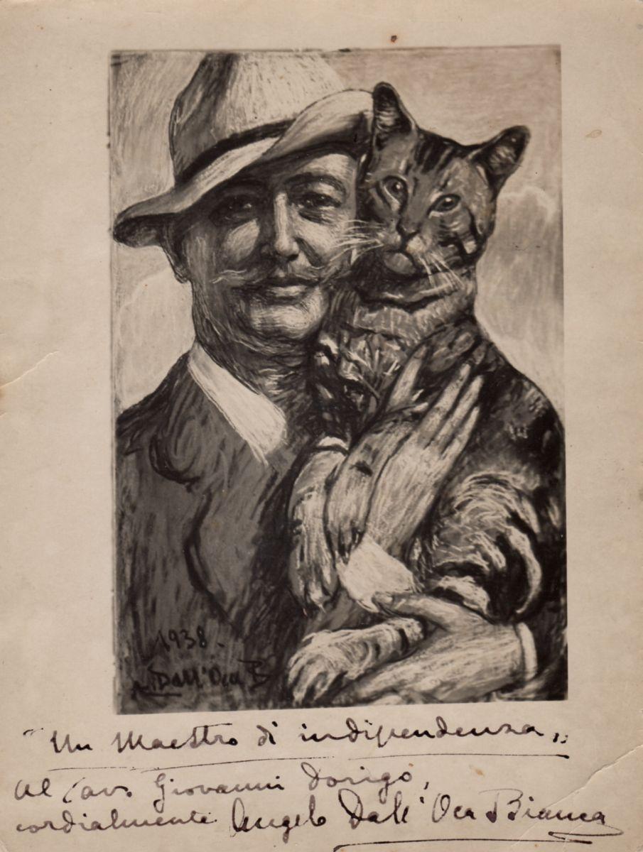 Angelo Dall'Oca Bianca, Autoritratto [1938]