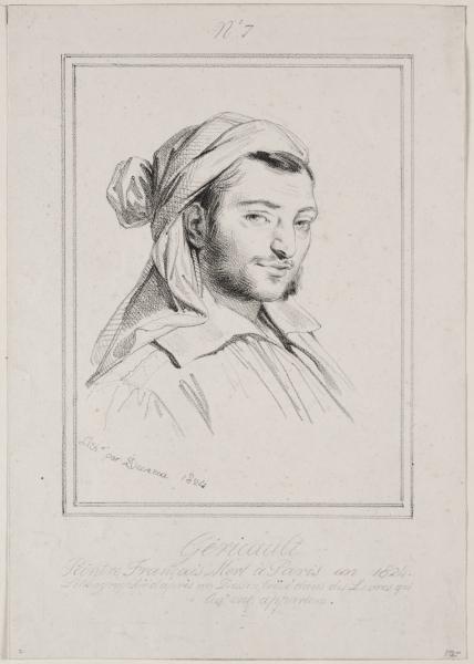 Deveria, Théodore Géricault