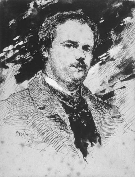 Edoardo Dalbono, Autoritratto