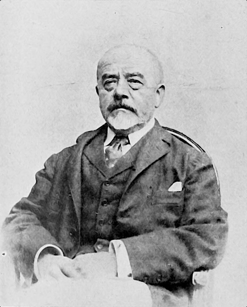 """Ritratto fotografico di Enrico Coleman tratto da """"In Memoriam: Enrico Coleman"""", Emporium, Aprile 1911"""