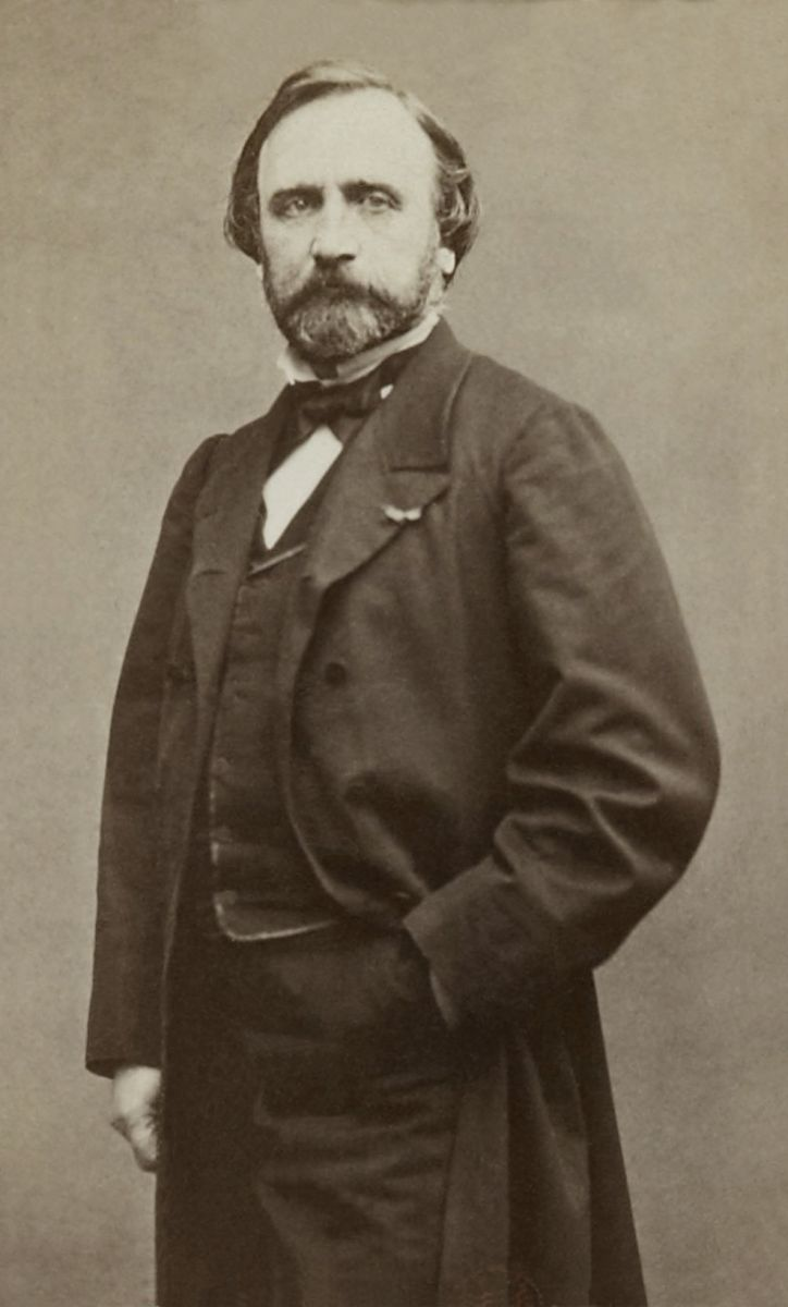 Etienne Carjat, Jean Achille Benouville, 1864