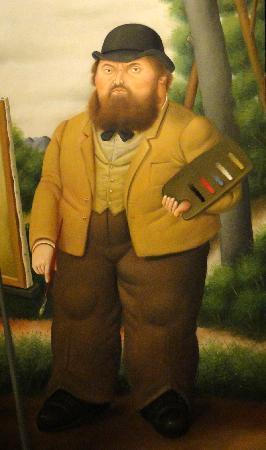 Fernando Botero, Cézanne, Museo de Antioquia, Medellin, Colombia