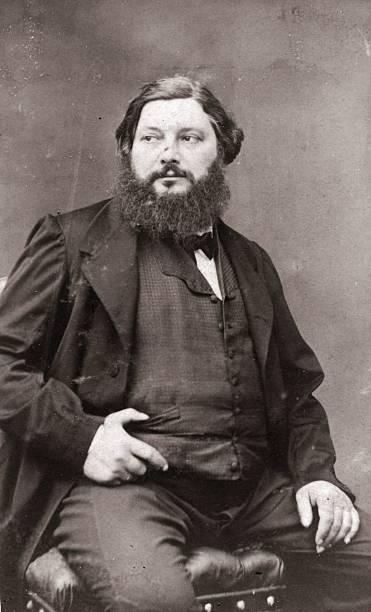 Foto del pittore Gustave Courbet