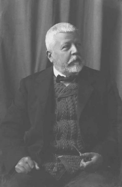 Gaetano Previati, foto di Emilio Sommariva, 1917