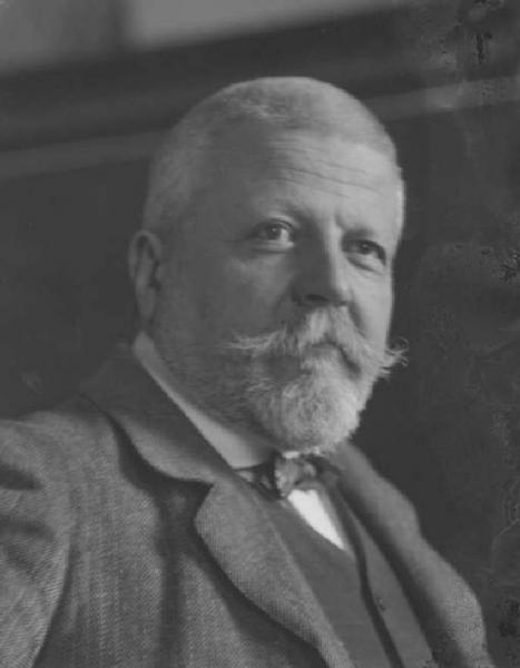 Gaetano Previati, foto di Emilio Sommariva, 1910