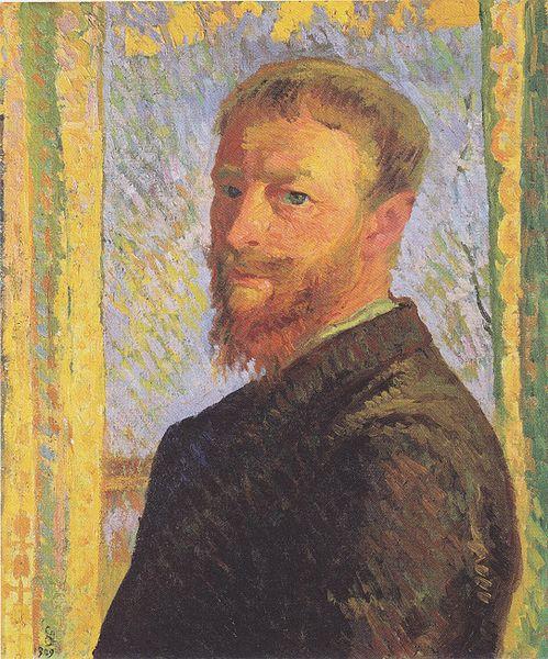 Giovanni Giacometti, Autoritratto