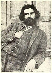 Ritratto fotografico di Giovanni Segantini