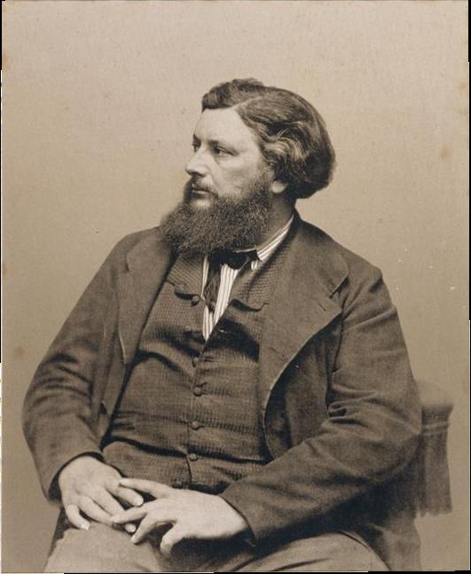 Gustave Courbet (foto Carjat)