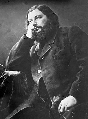 Gustave Courbet (foto Nadar)
