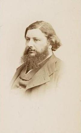 Gustave Courbet, (foto Reutlinger)