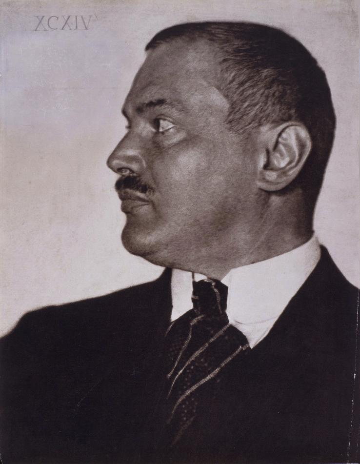 Hugo Erfurth, Foto di Franz von Stuck, 1904