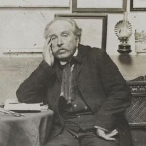 Il Douanier Rousseau, ritratto fotografico