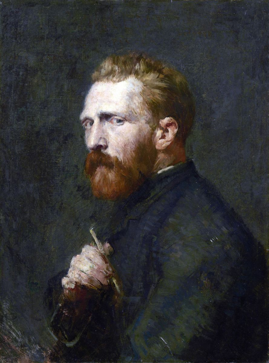 John Peter Russell, Ritratto di Vincent van Gogh [1886]