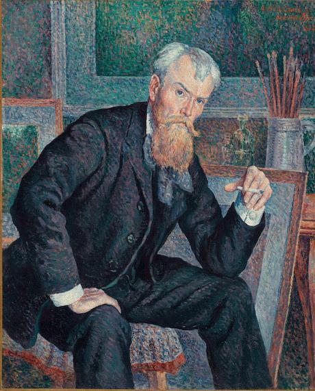 Maximilien Luce, Henri-Edmond Cross, 1898, Olio su tela, cm. 100 x 81,3, Paris, Musée d'Orsay