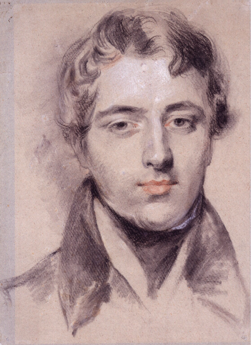 Margaret Sarah Carpenter, Richard Parkes Bonington, circa 1827, cm. 44,5 x 33, National Portrait Gallery, London, NPG 492