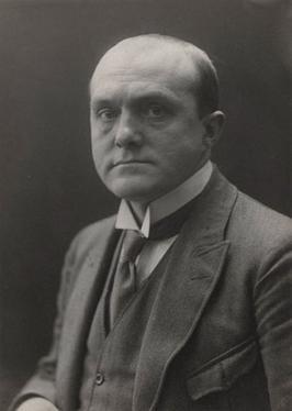 Max Beckmann, foto di Hans Möller,1922