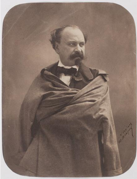 Félix Nadar, Ritratto del pittore Giuseppe Palizzi