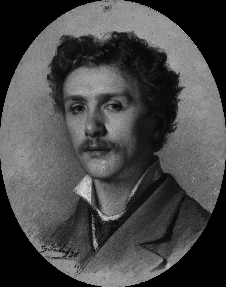 Giuseppe Palizzi, Autoritratto