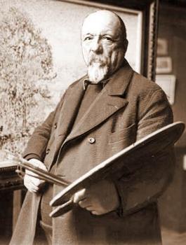 Paul Signac nel suo studio