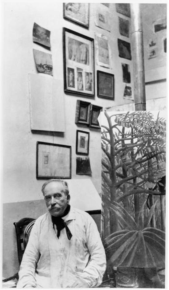 Ritratto del Doganiere Rousseau, foto di Pablo Picasso
