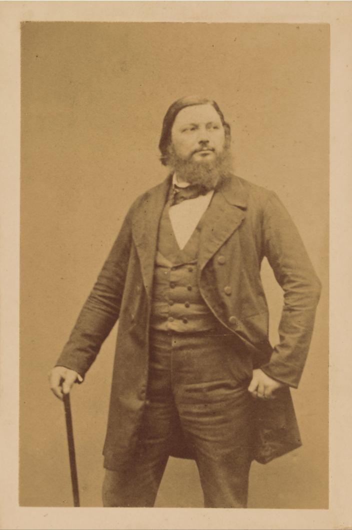 Ritratto di Gustave Courbet [1860-1865 circa]