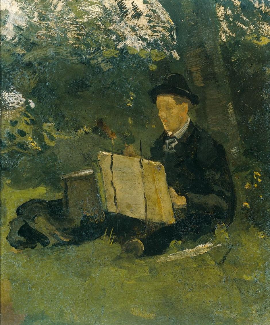 Roland Host, Jan Verkade che dipinge