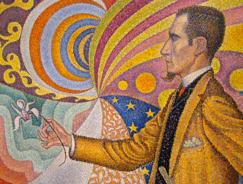 Paul Signac, Ritratto di Fénéon