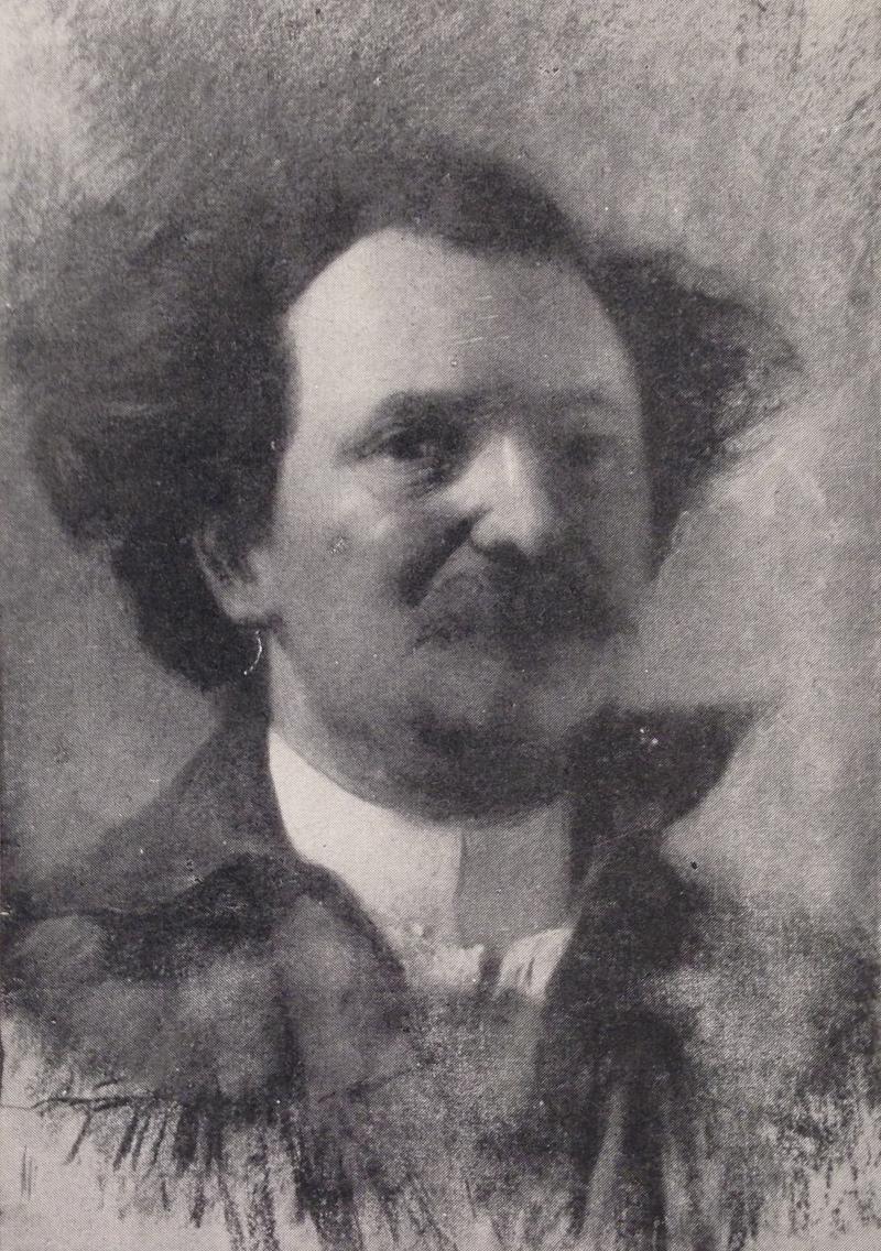 Cesare Tallone, Autoritratto