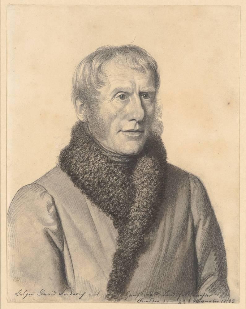 Carl Christian Vogel von Vogelstein (1788-1868), Bildnis Friedrich, Caspar David (1774-1840), Maler, Graphiker
