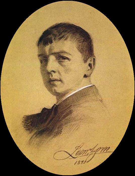Anders Zorn, Autoritratto, 1881