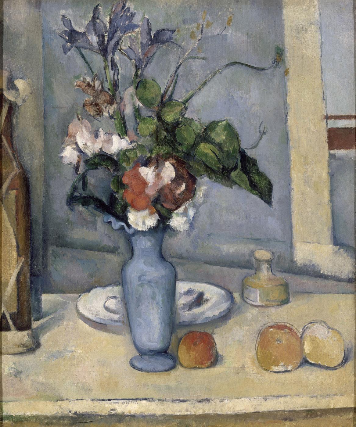 Il vaso blu arte for Vaso blu