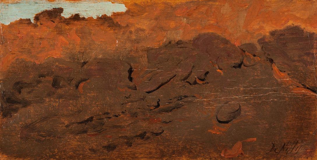 Risultati immagini per de nittis lave del vesuvio