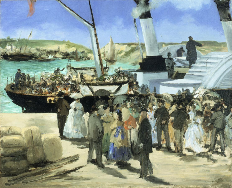 Картинки по запросу departure of the folkestone boat