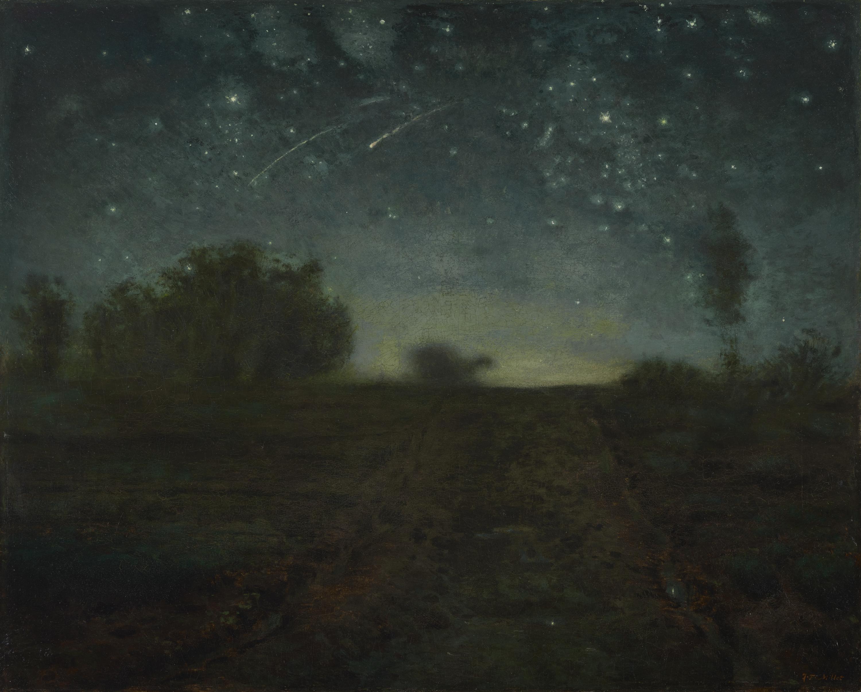 Notte stellata arte for La notte stellata