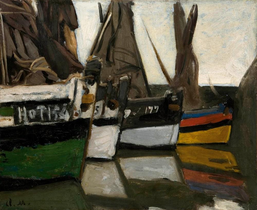 Barche da pesca a Honfleur | arte