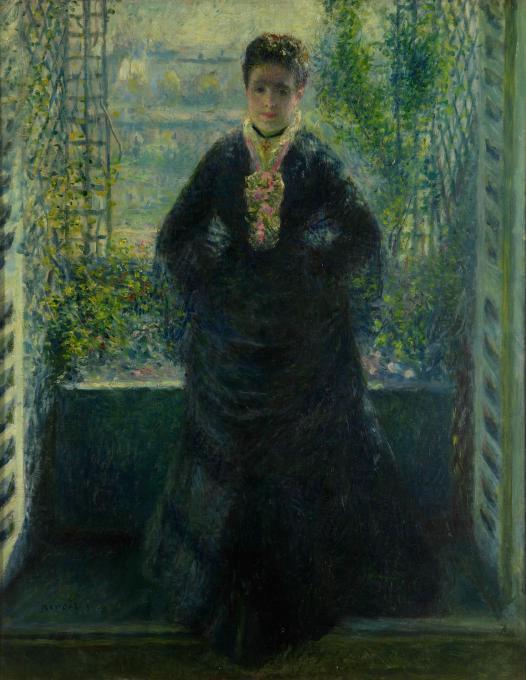 Ritratto di madame choquet alla finestra arte - Epatite c periodo finestra ...