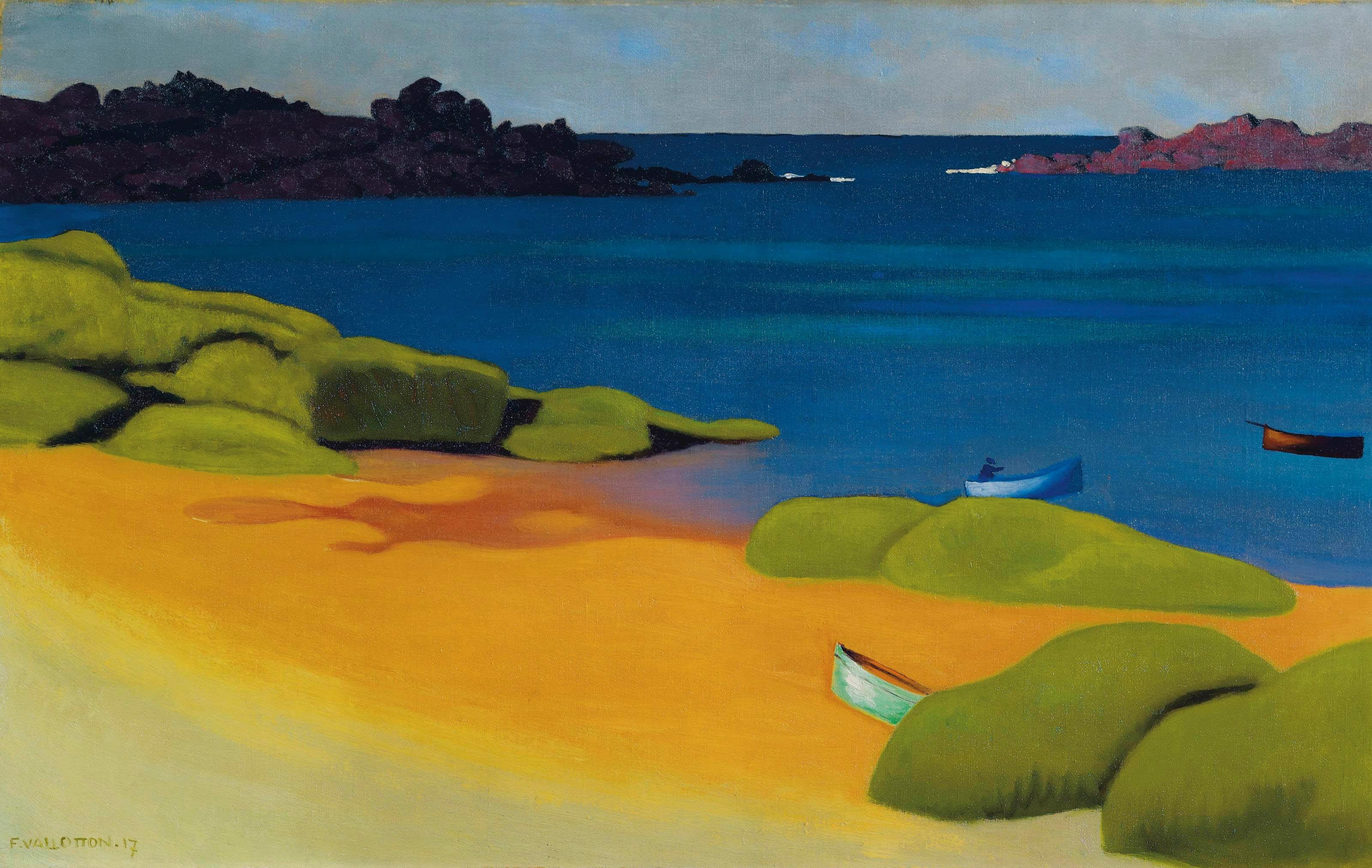 Картинки по запросу paysage valotton peinture