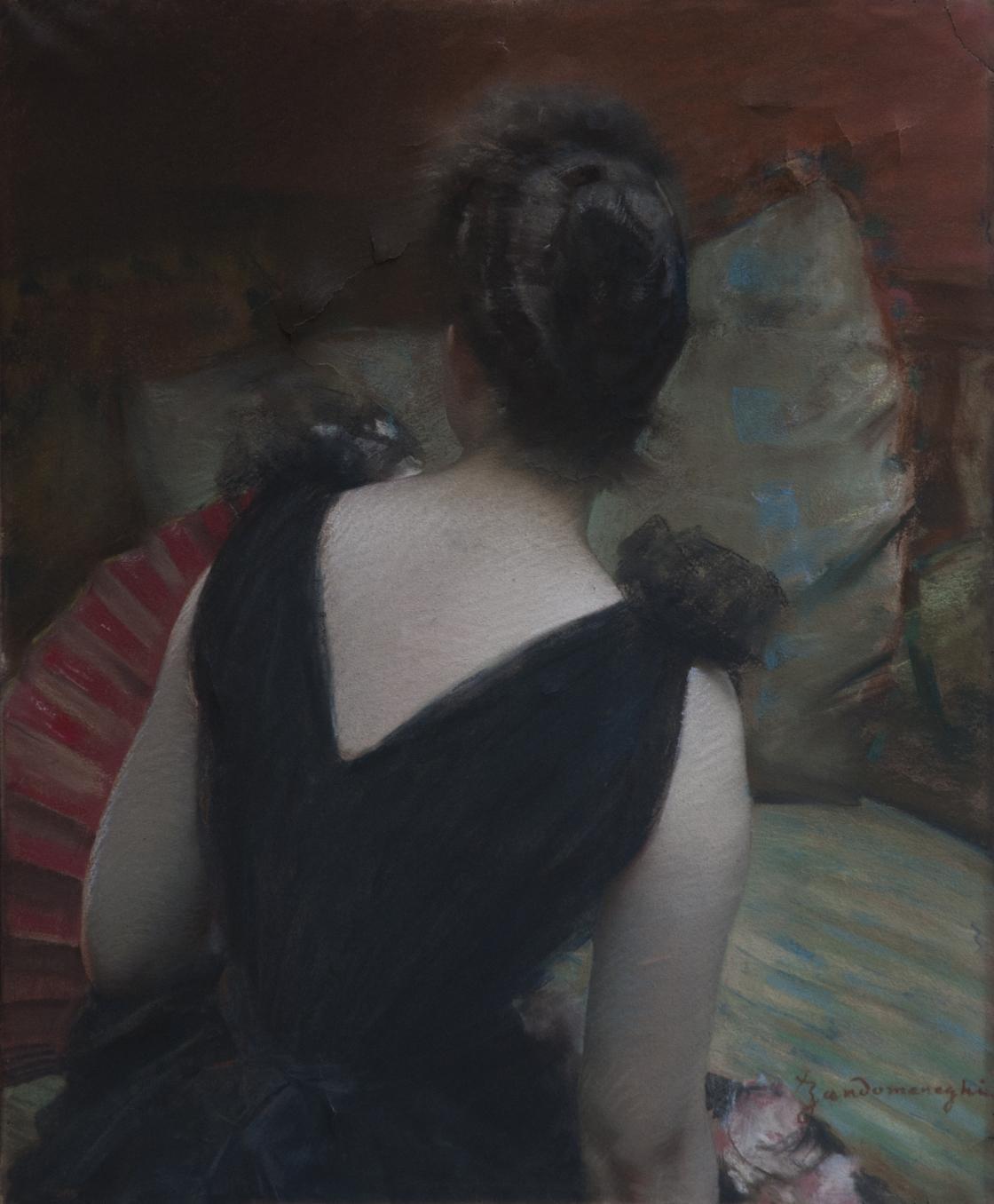 Donna Di Spalle Arte