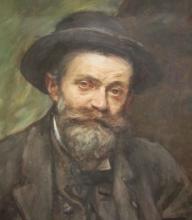 Alessandro Zezzos, autoritratto, 1907 [dettaglio]